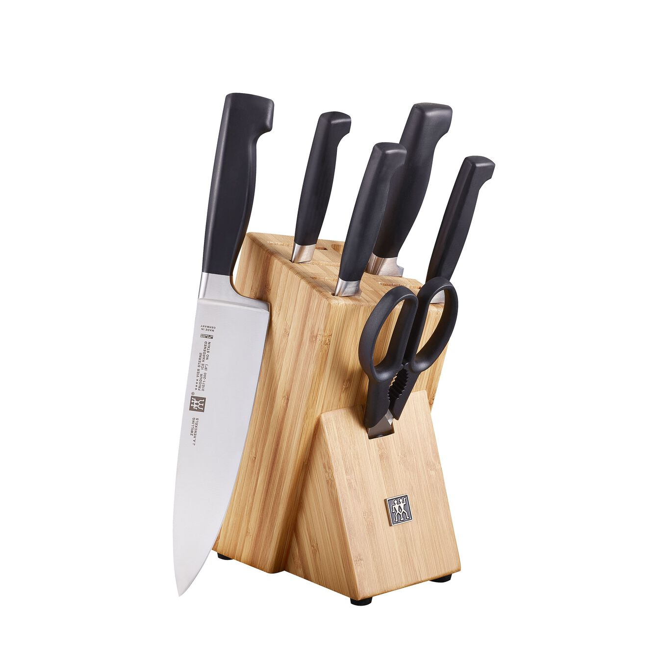 7 Piece Knife block set,,large 1