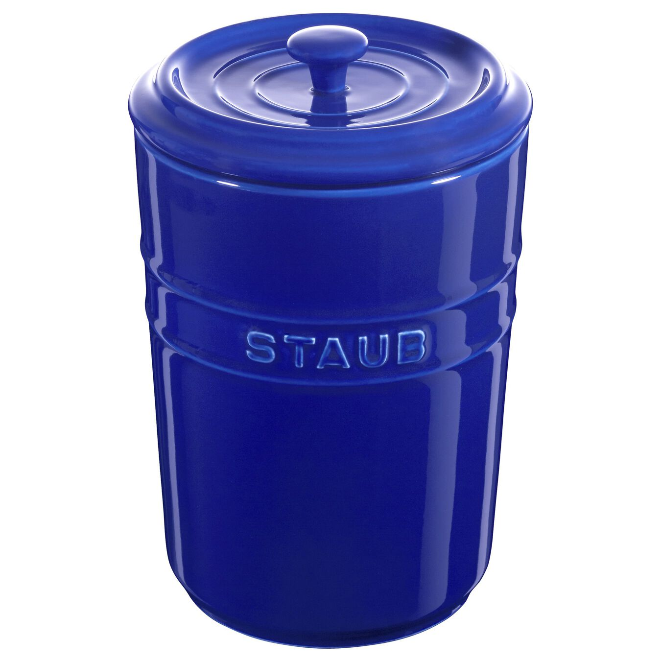 1,5 l Ceramic Bocal de rangement, Dark-Blue,,large 1