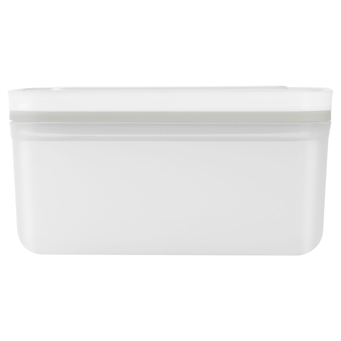medium Vacuum Container, plastic, white,,large 3