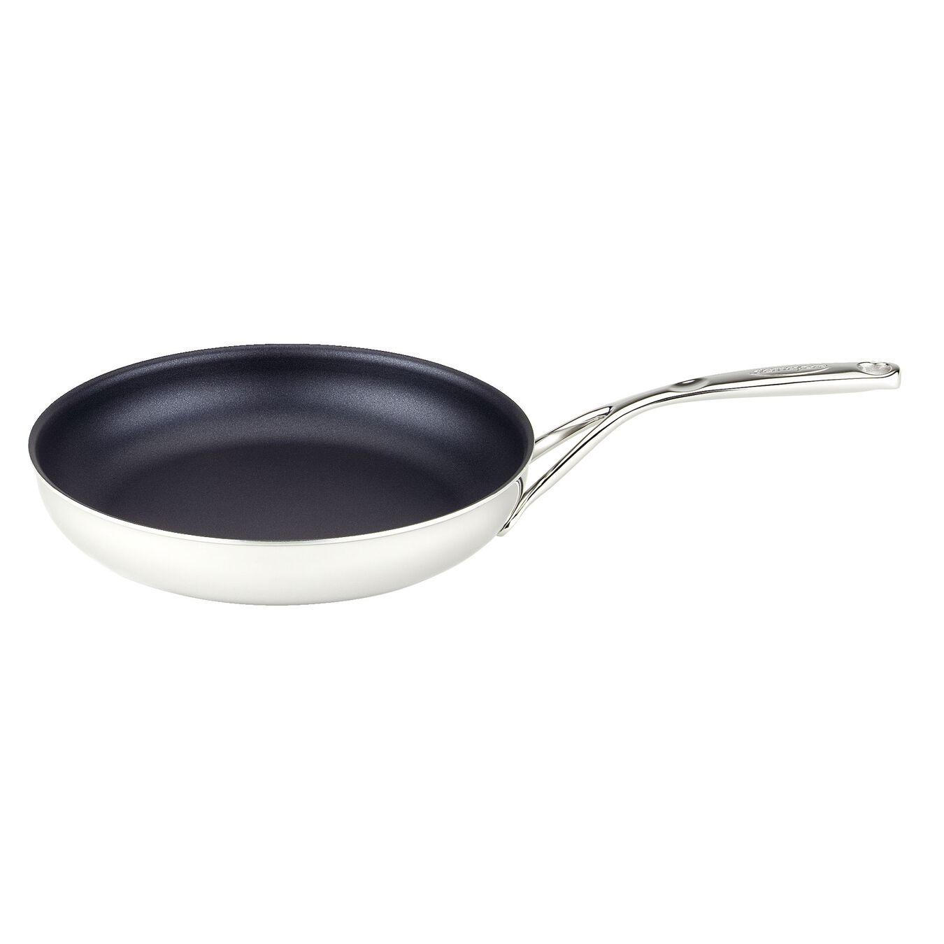 Poêle 28 cm, Inox 18/10, Silver-Black,,large 2