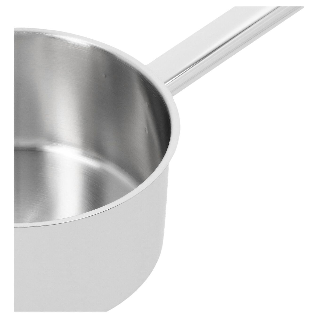 Sos Tenceresi Kapaklı | 18/10 Paslanmaz Çelik | 16 cm | Metalik Gri,,large 3