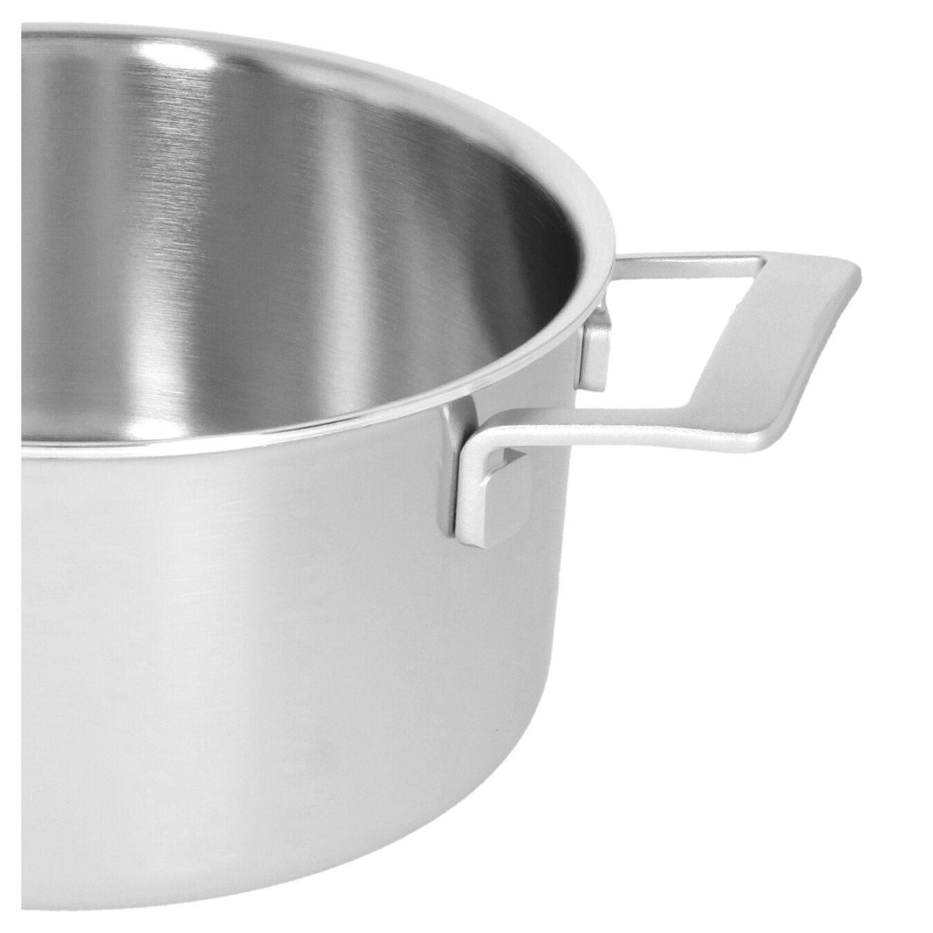 5.5 qt, 18/10 Stainless Steel, Stew pot with lid,,large 6