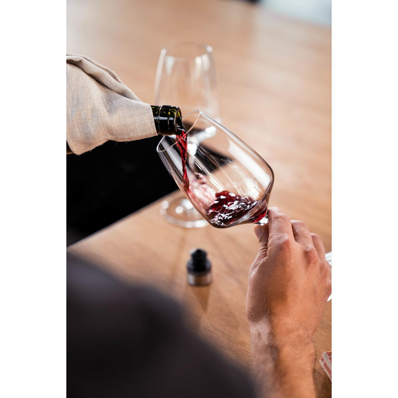 Set sottovuoto per il vino - 3-pz., acciaio inox,,large 7