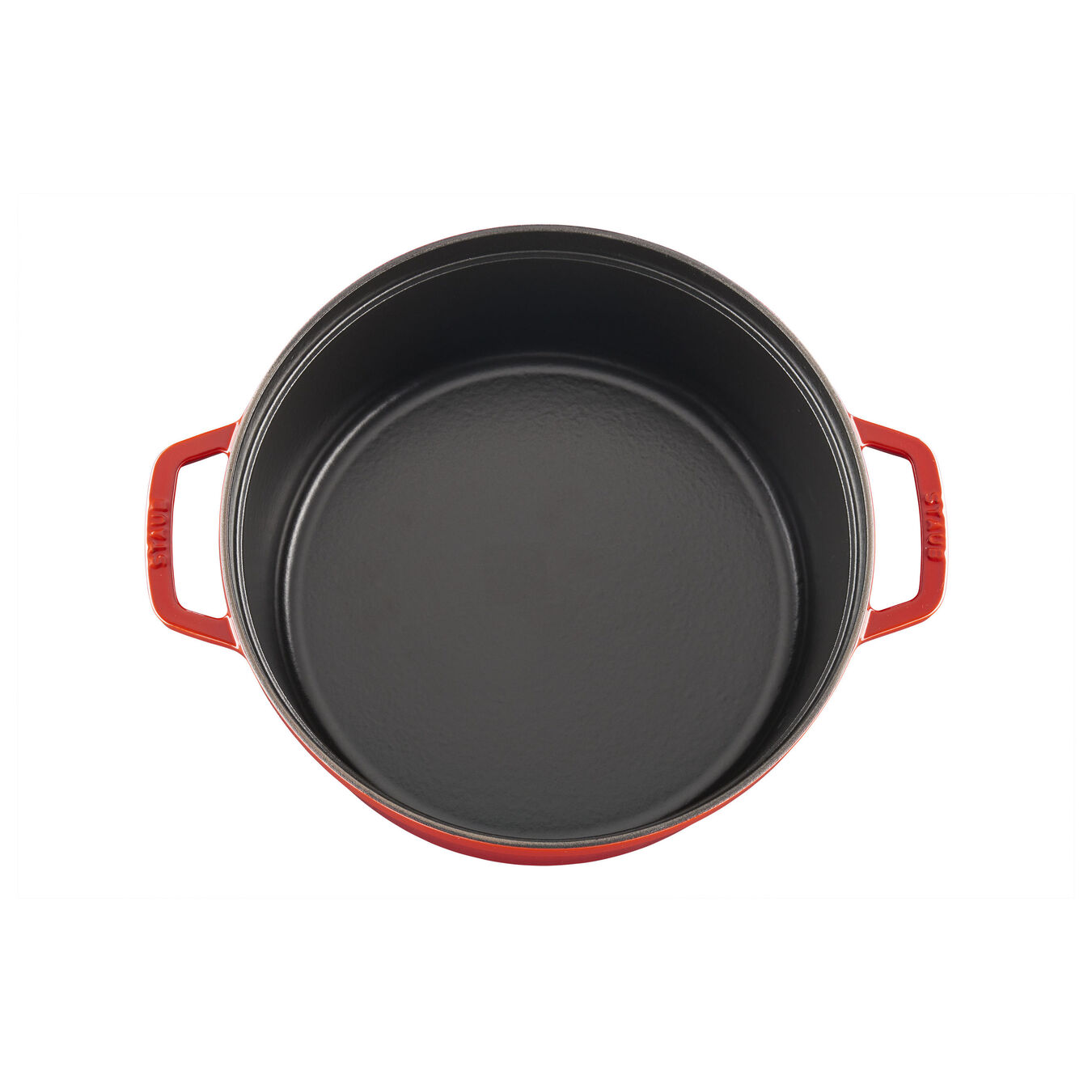 6.5 qt, round, Cocotte, cherry - Visual Imperfections,,large 3