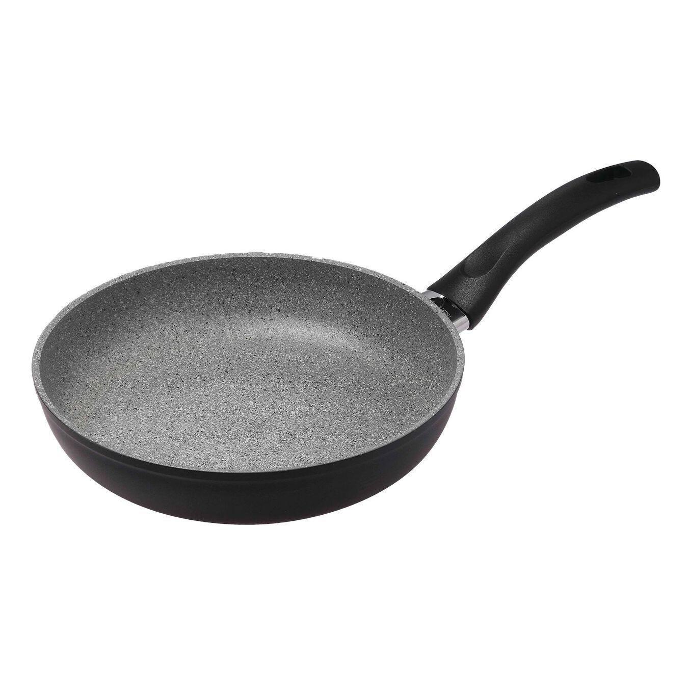Aluminium round 32cm/12.5in frypan pan, grey,,large 1