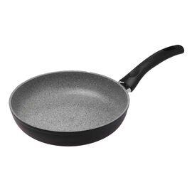 BALLARINI Rialto Granitium,  aluminium round 32cm/12.5in frypan pan, grey