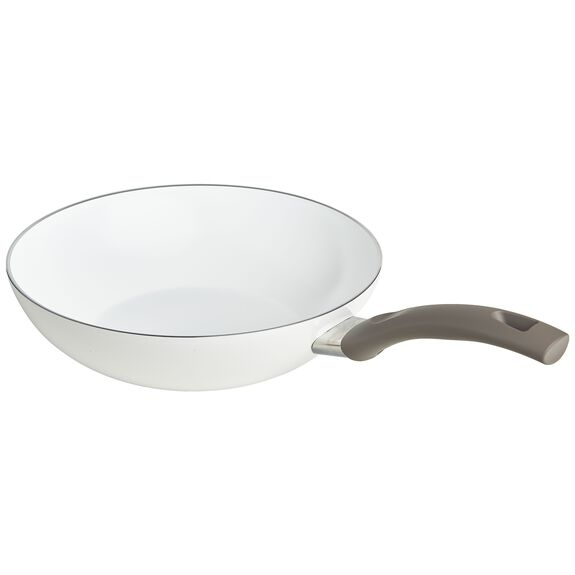 11-inch Aluminum Ceramic Nonstick Stir Fry Pan,,large