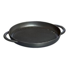 Staub Cast Iron, 10-inch Pure Grill - Black Matte