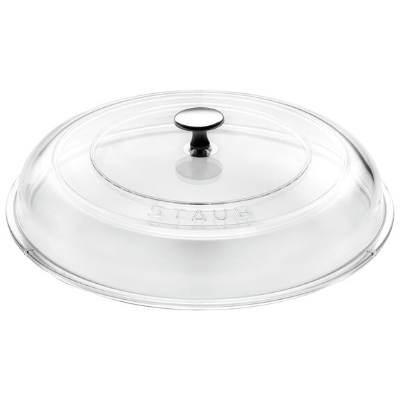 11-inch Glass Lid domed made of glass,,large