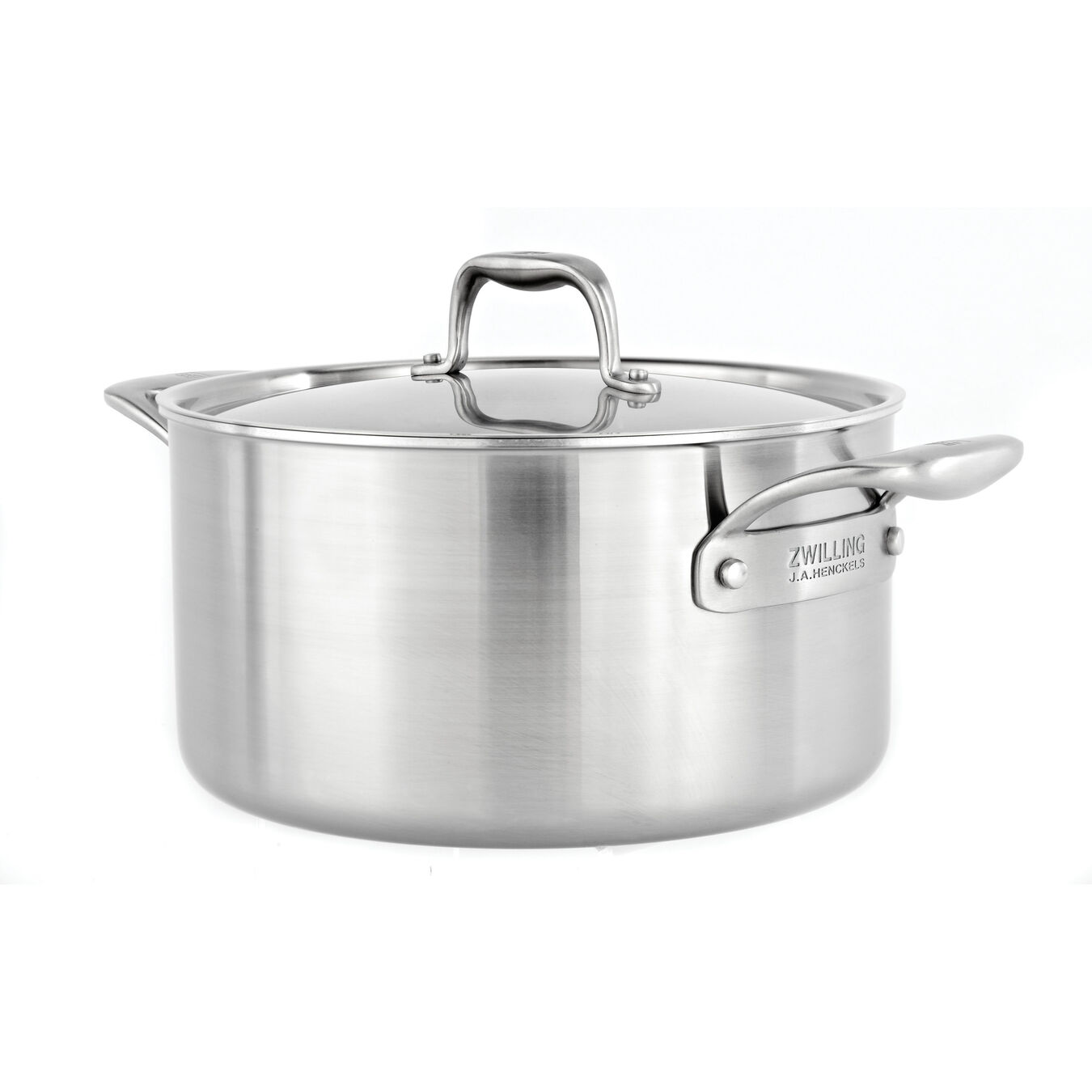 5.7L18/10 STAINLESS STEEL stock pot with ceramic non-stick coating,,large 1