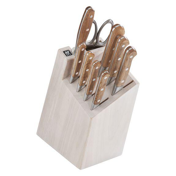 10-pc Knife Block Set - White Block,,large