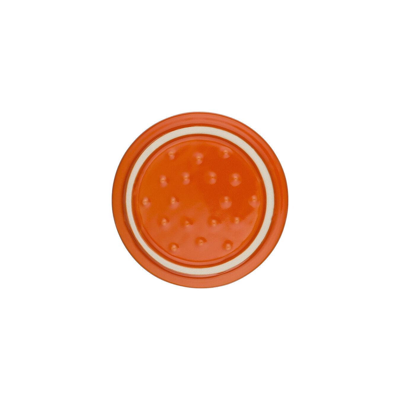 Mini Cocotte 10 cm, Rund, Orange, Stentøj,,large 2