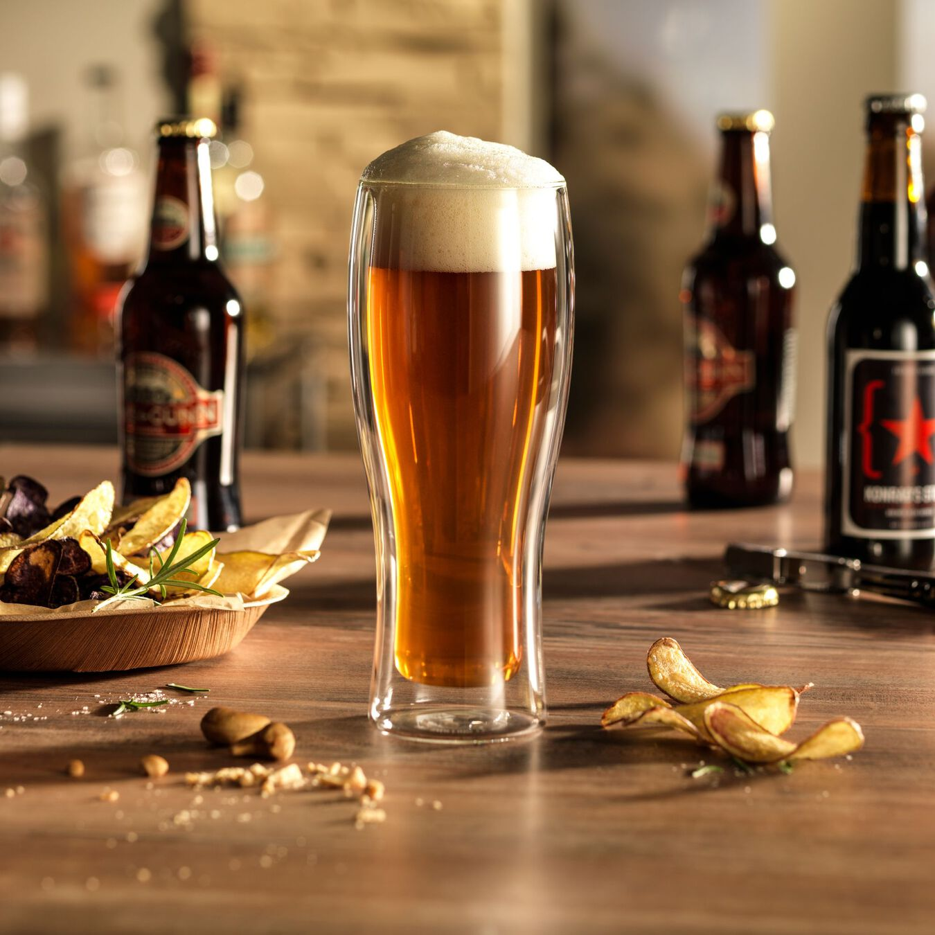 4-pc, Beer glass set,,large 7