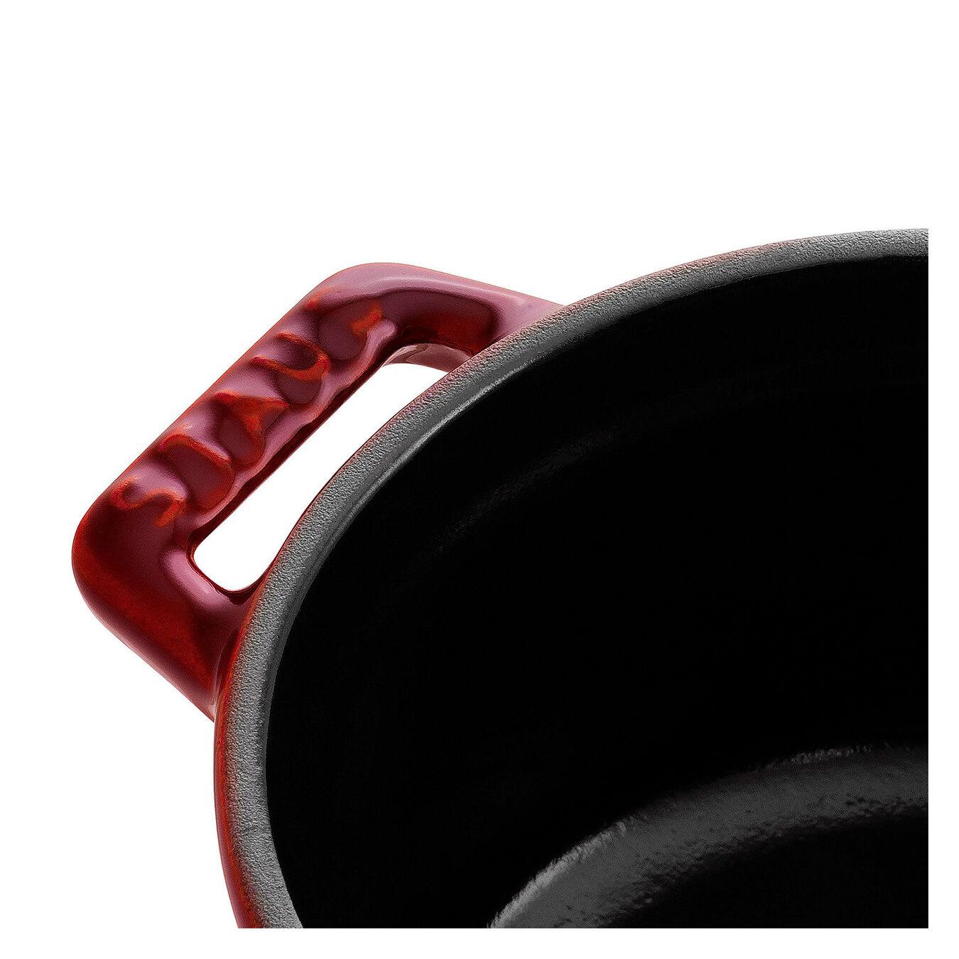 Mini cocotte rotonda - 10 cm, granatina,,large 3