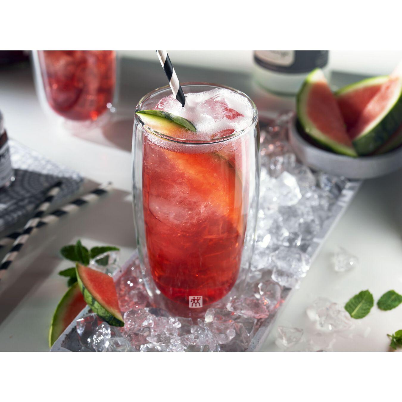 Set di bicchieri da softdrink - 2-pz., vetro borosilicato,,large 2