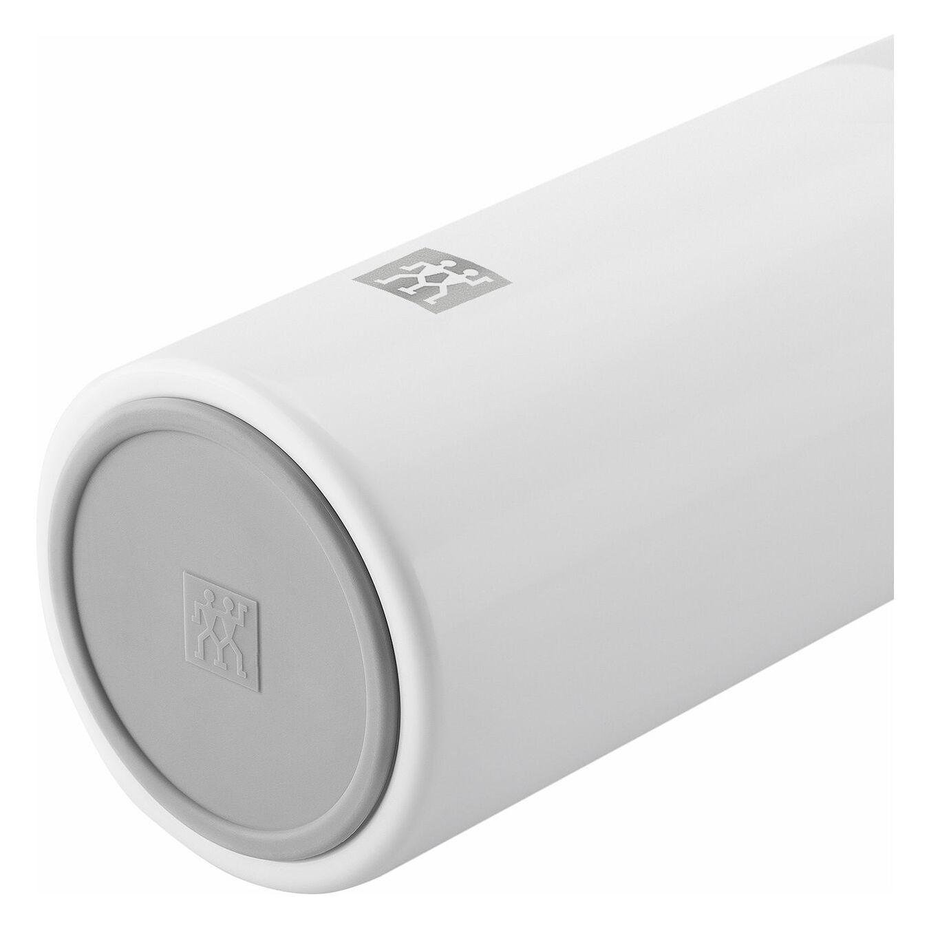 Thermos - 420 ml, acciaio inox, bianco,,large 5