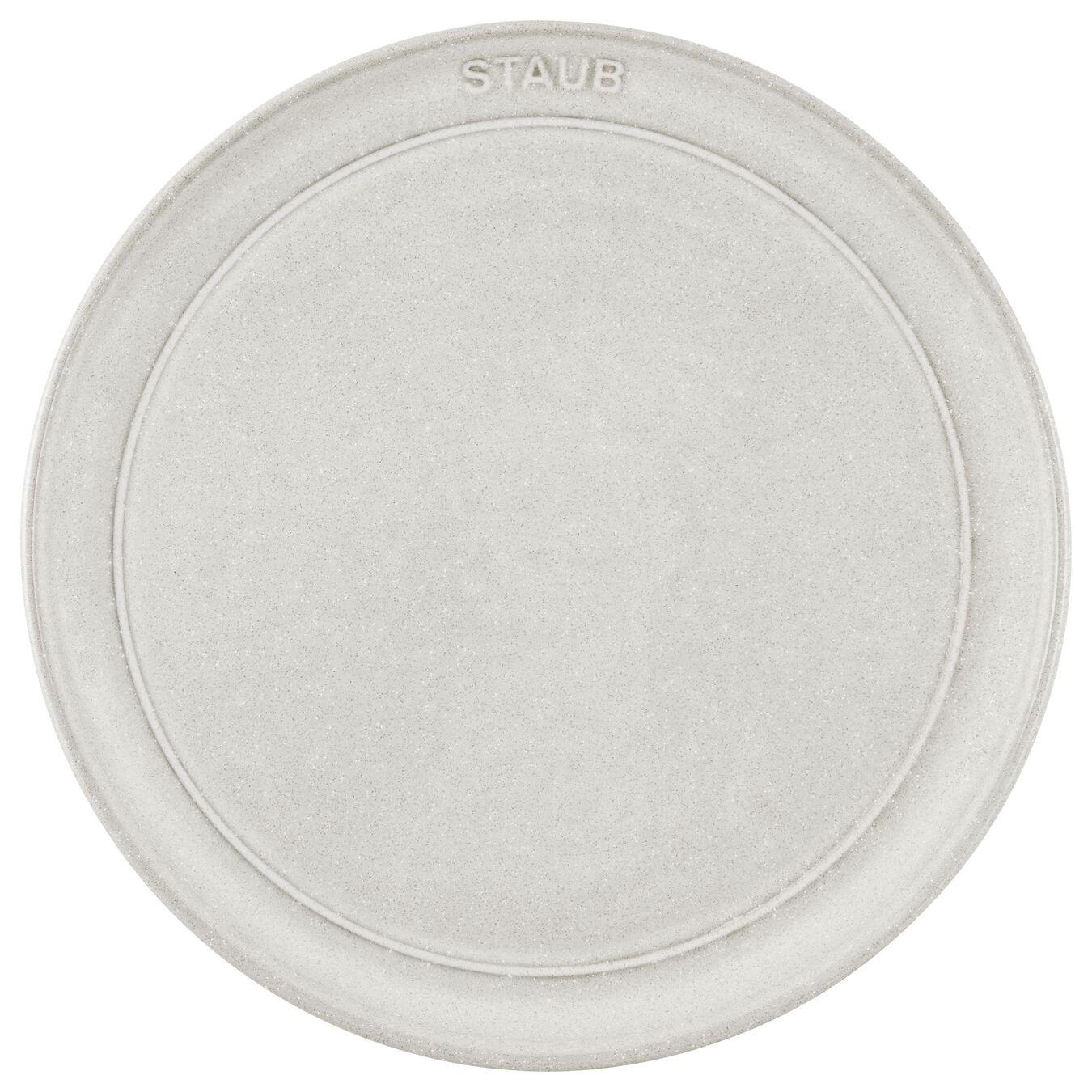 Piatto piano rotondo - 22 cm, tartufo bianco,,large 2