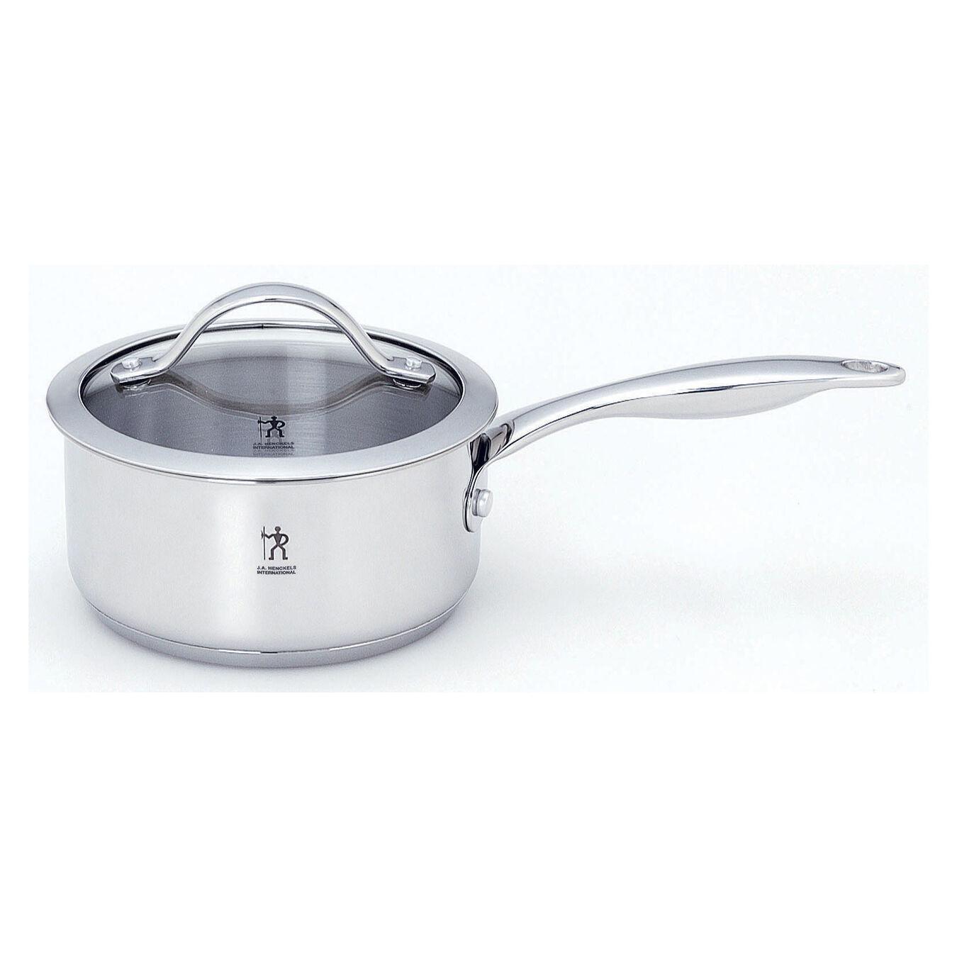10-pcs 18/10 Stainless Steel Ensemble de casseroles et poêles,,large 4
