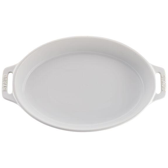 2-pc Oval Baking Dish Set, White, , large 3