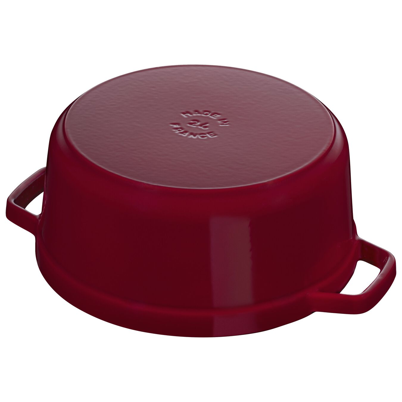 5.25 l Cast iron round Cocotte, Bordeaux,,large 4