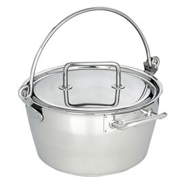 Demeyere RESTO, 10.6-qt Stainless Steel Maslin Pan