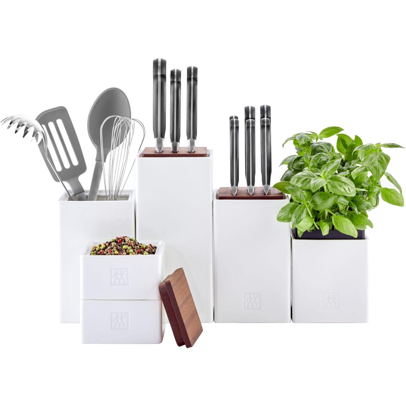 28.75 oz, ceramic, Medium Box with herb Pot and lid ,,large 4