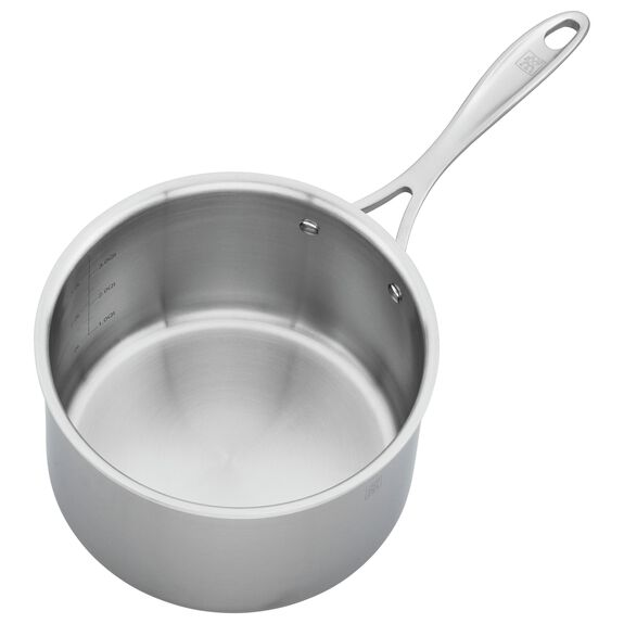 4-qt 18/10 Stainless Steel Sauce pan,,large 3