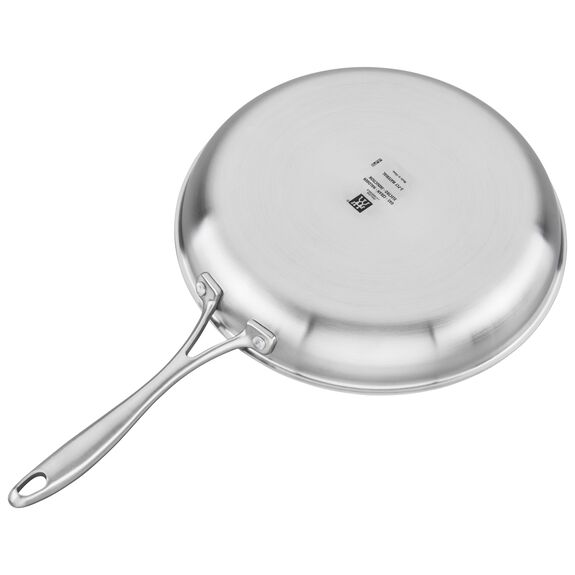 3-ply 12-inch Stainless Steel Fry Pan,,large