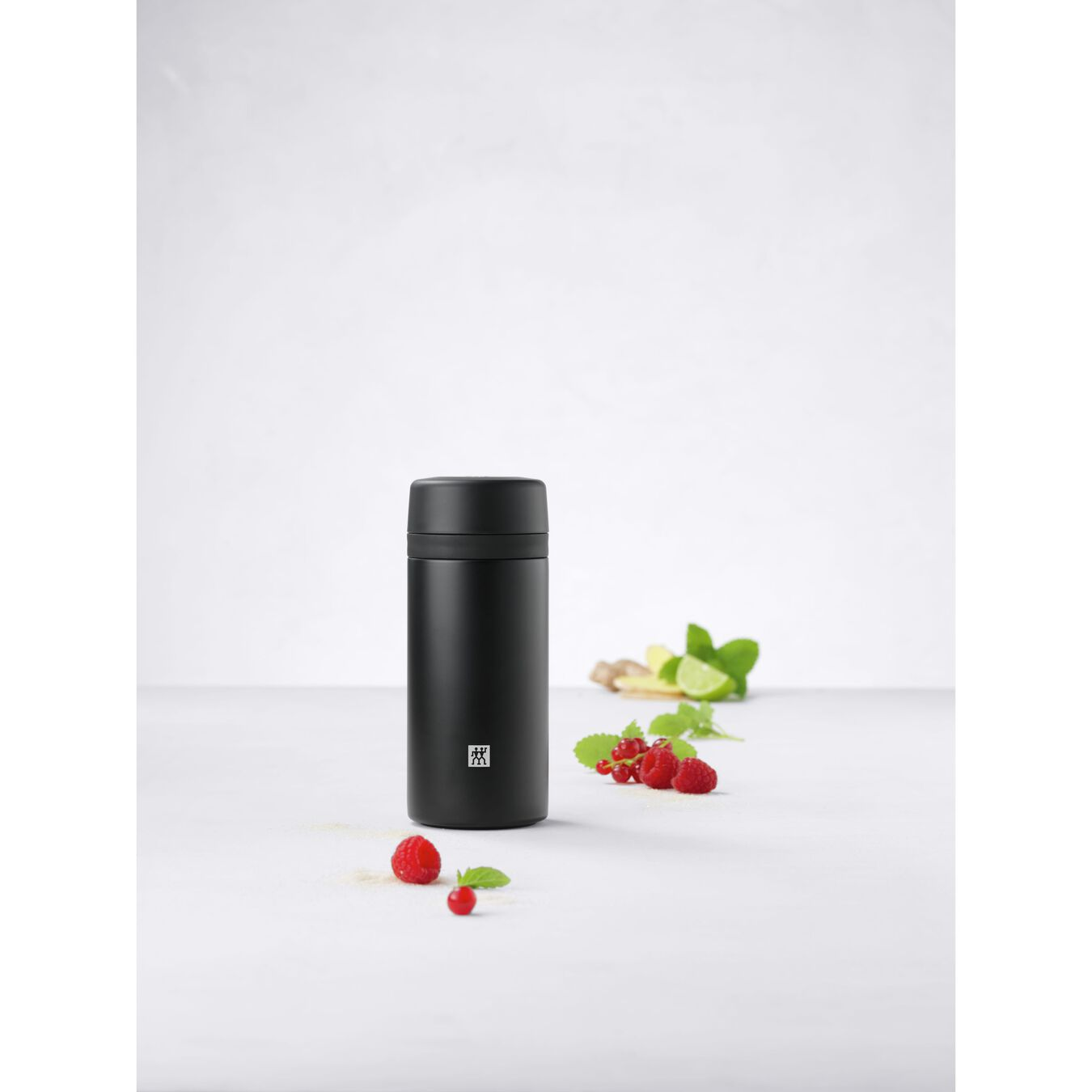 Thermos flask, 420 ml | black,,large 6