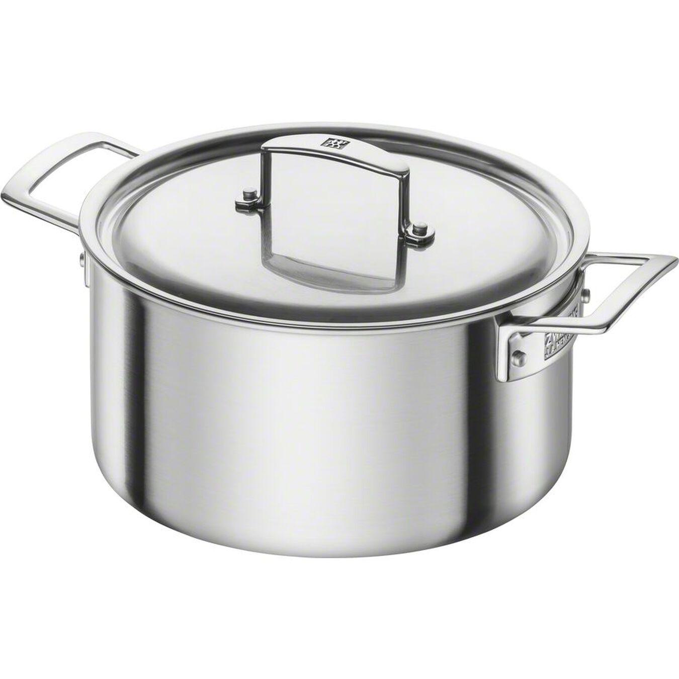 10-pcs 18/10 Stainless Steel Set de casseroles et de poêles,,large 3