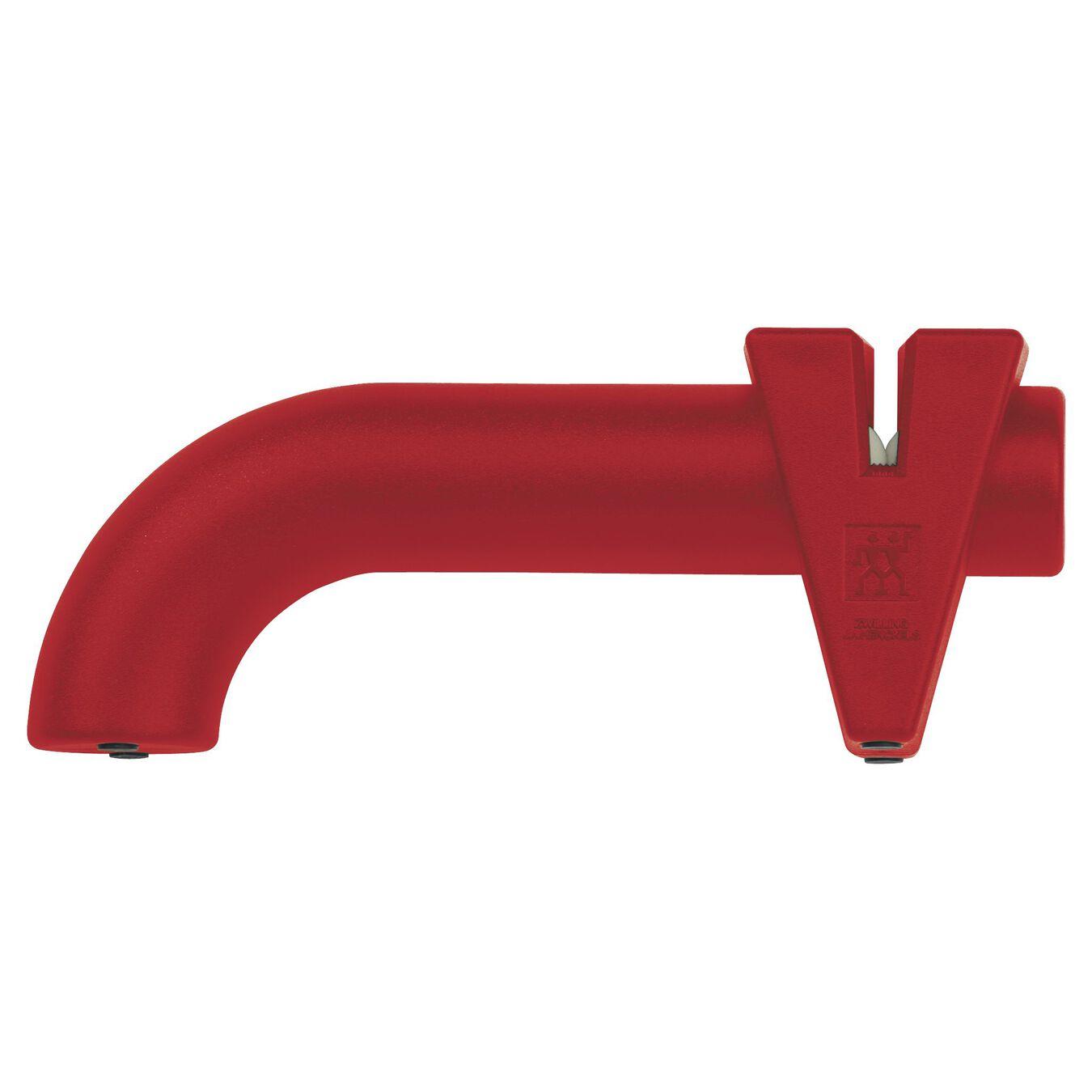 Knife sharpener, 5 cm | red | ABS,,large 1