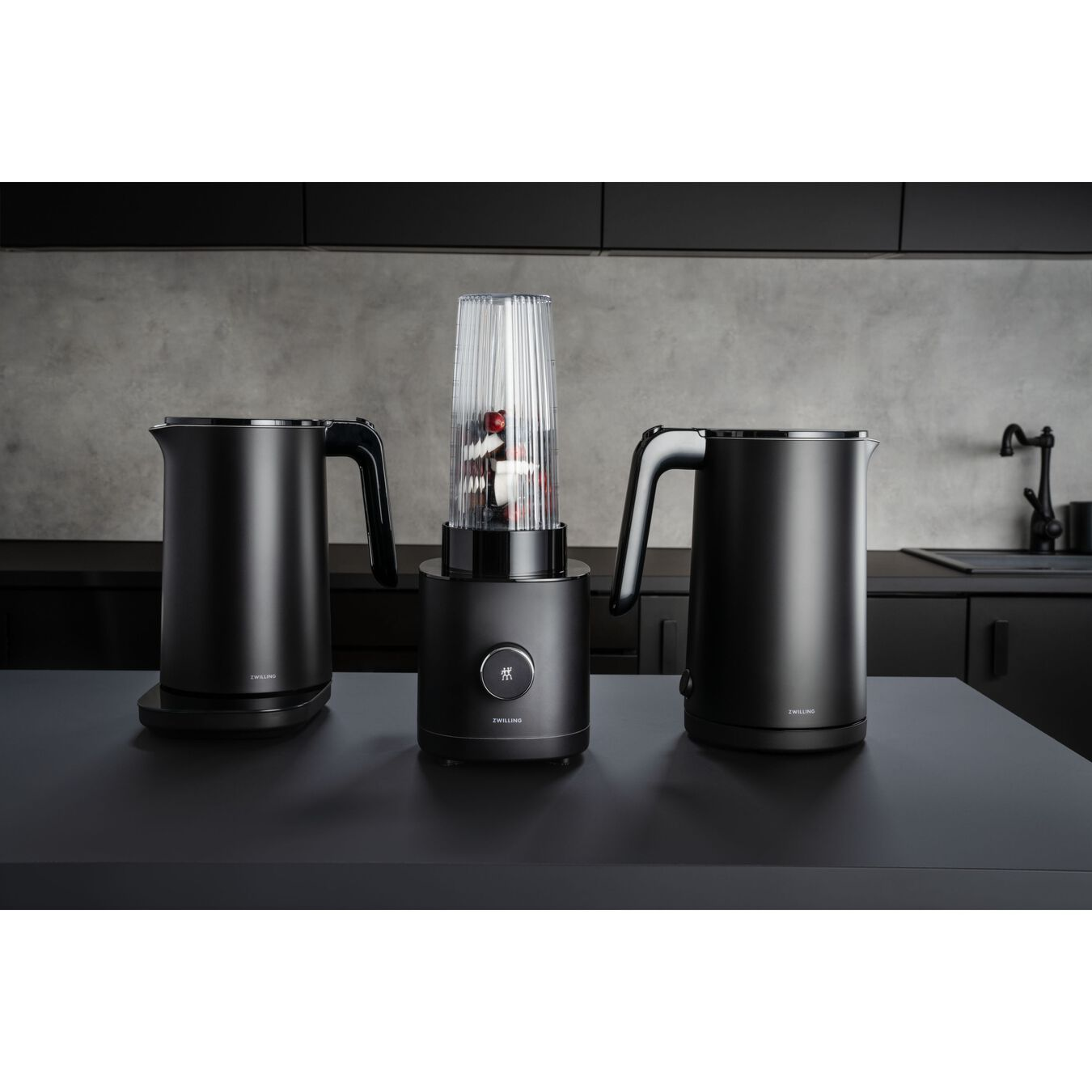 Mini Blender, AC Motor, Noir,,large 4