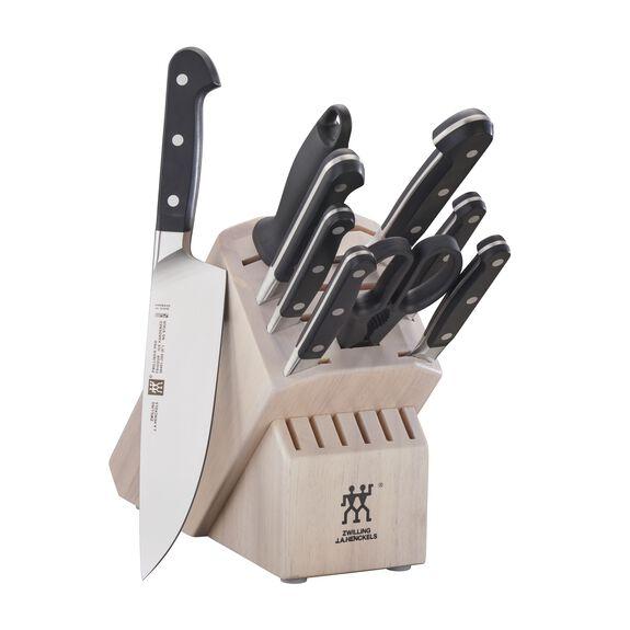 10-pc Knife Block Set - White,,large