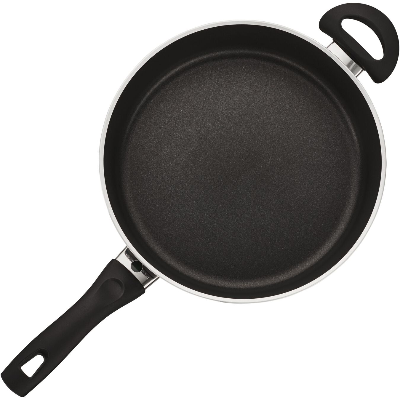 3.8-qt Nonstick Saute Pan with Lid,,large 1