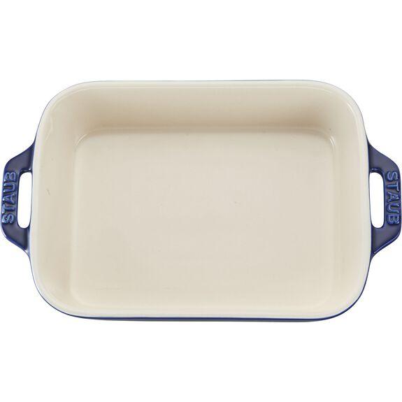 """7.5x6"""" Rectangular Baking Dish, Dark Blue, , large 3"""
