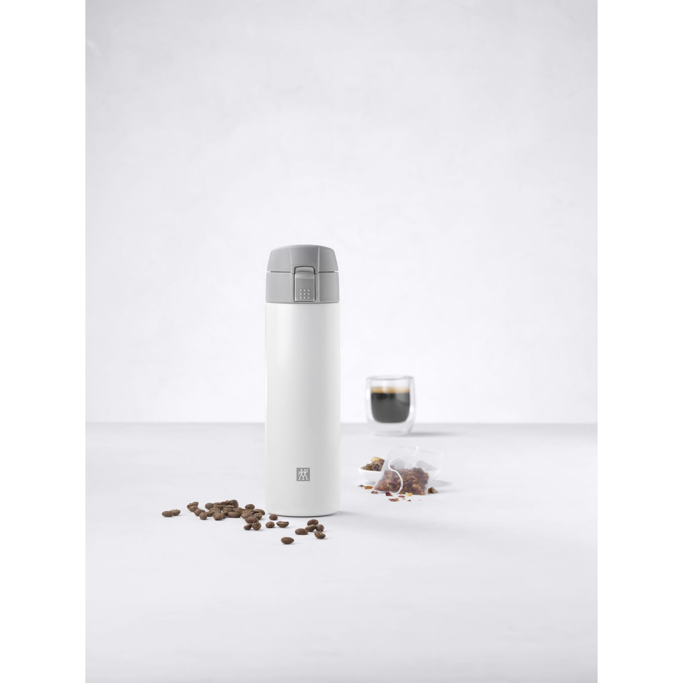 Thermos flask, 450 ml | White,,large 5