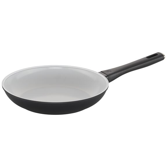10-inch Ceramic Nonstick Fry Pan, White, , large
