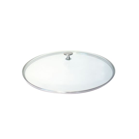12-inch Glass Lid made of glass,,large