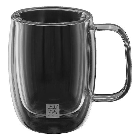 Çift Camlı Kulplu Espresso bardağı seti, 2-parça,,large 2