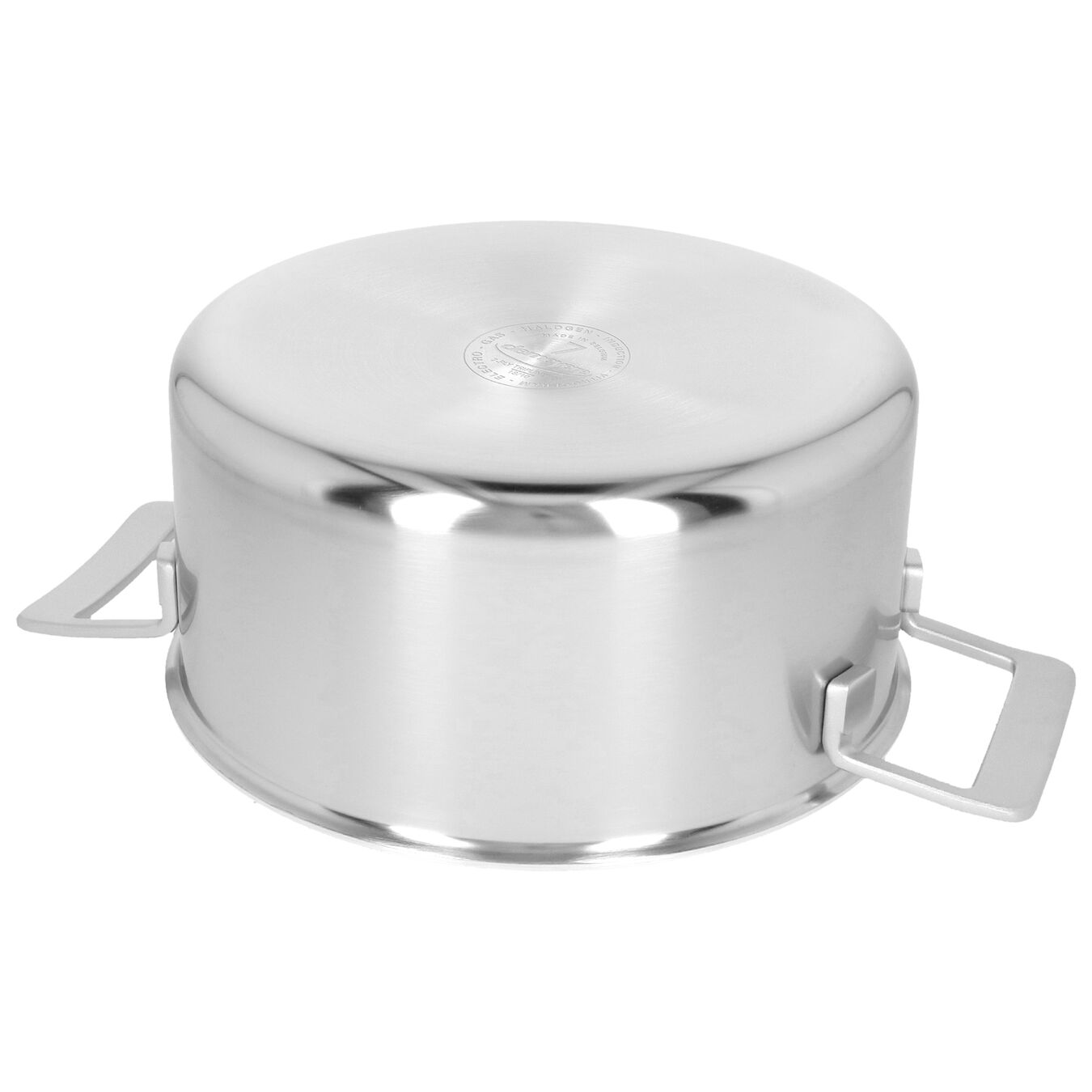 5.5 qt, 18/10 Stainless Steel, Stew pot with lid,,large 5