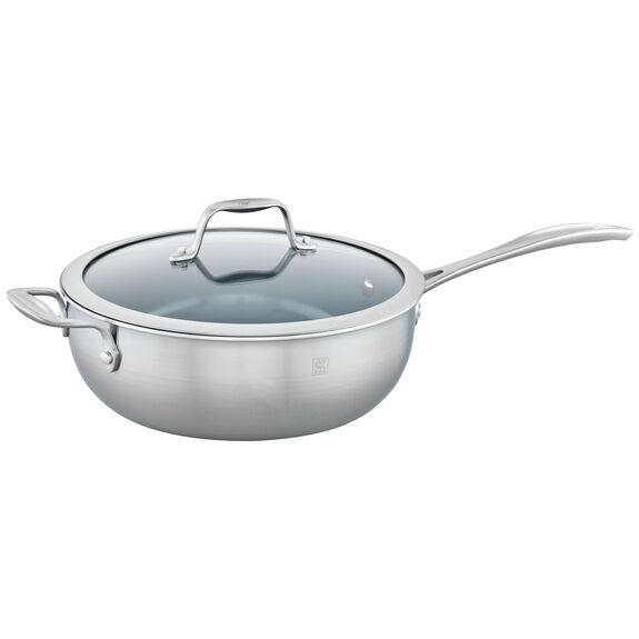4.6-qt Ceramic Nonstick Perfect Pan, , large