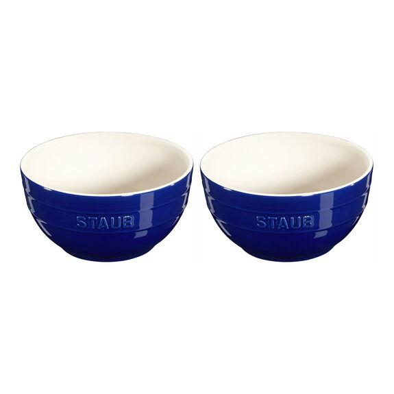 2-pc Large Universal Bowl Set - Dark Blue,,large