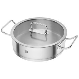 ZWILLING Pro, 4.25 l round Saucier and sauteuse, silver