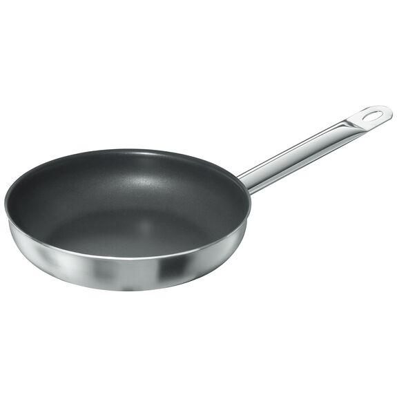 Kızartma Tavası, 25 cm | PTFE | Gümüş-Siyah | Yuvarlak,,large