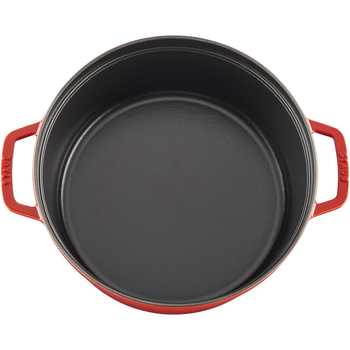 6 l round Braise + Grill, cherry - Visual Imperfections,,large 8