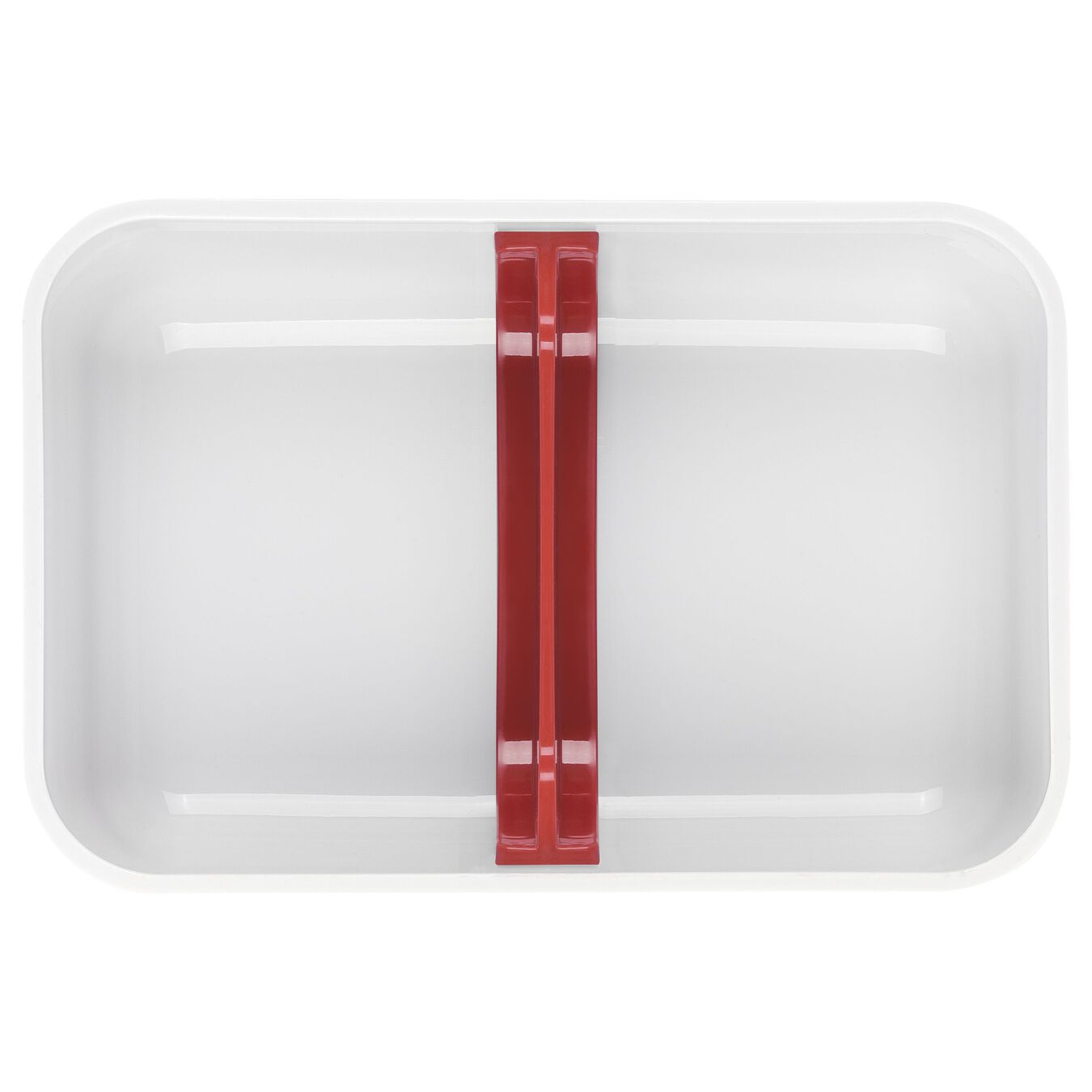 Lunch box sottovuoto, L, plastica, bianco-rosso,,large 4