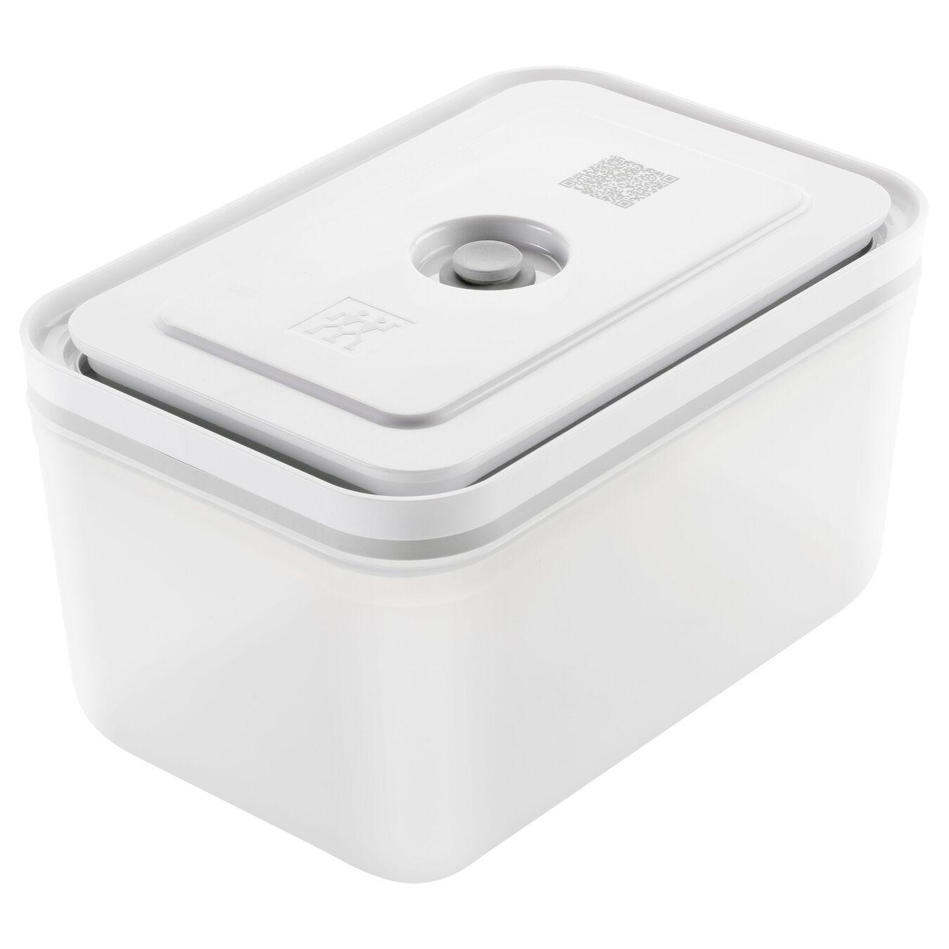 large Vacuum Container, plastic, white,,large 1