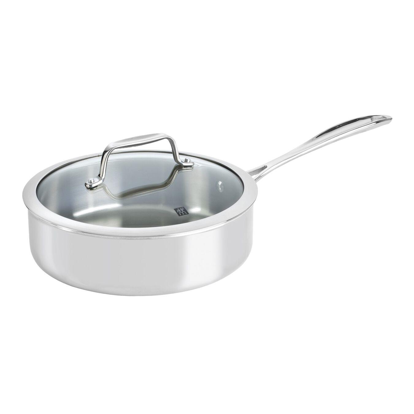 10-pcs 18/10 Stainless Steel Set de casseroles et de poêles,,large 4