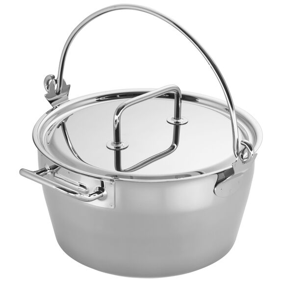 10.6-qt Stainless Steel Maslin Pan, , large