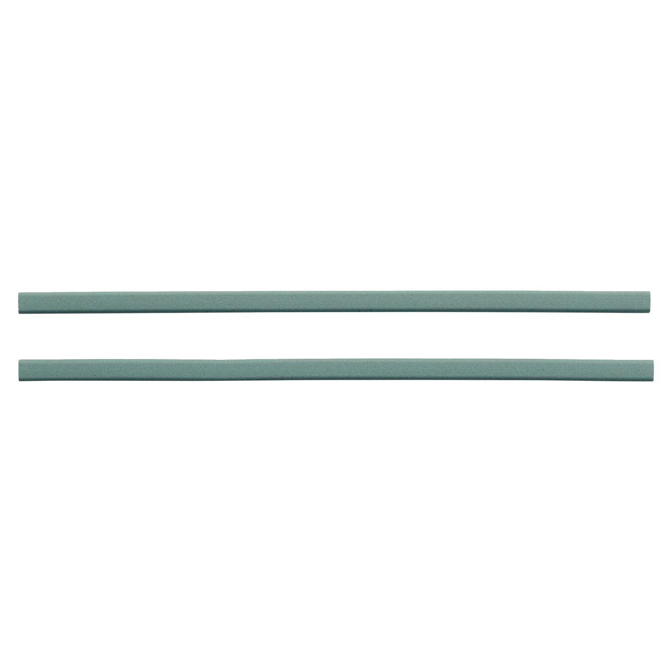 Hastes cerâmicas grão 360 - 2 un para afiador V-edge, 2 cm | Verde | Cerâmica,,large 1